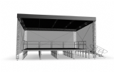 Alustage  TUV Proflex 6 x 4 mtr Trussing Canopy Roof System